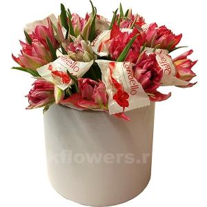 Букет цветов американский 14
