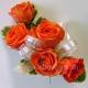 Браслет из цветов 27