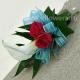 Браслет из цветов_30