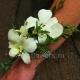 Браслет из цветов 37