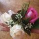 Браслет из цветов 41