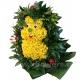 ёжик из цветов (30 см)