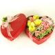 Композиция цветов сердце 25