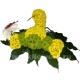 скорпион из цветов