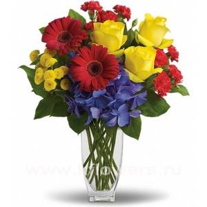 Букет цветов американский 22