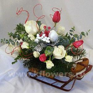 Доставка композиции из цветов купить сухие цветы, икебаны спб