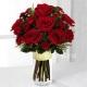 Букет цветов новогодний 17
