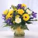 Букет цветов африканский 13