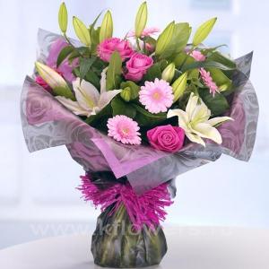Букет цветов африканский 15
