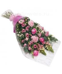 Букет цветов африканский 17