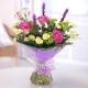 Букет цветов африканский 20