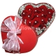 Композиция цветов сердце 26