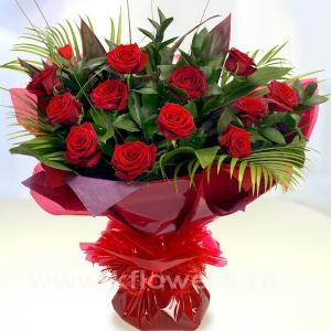 Букет цветов африканский 22