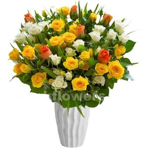 Букет цветов американский 26