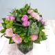 Букет цветов европейский 12