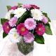 Букет цветов европейский 13