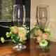 Свадебное оформление бокалов