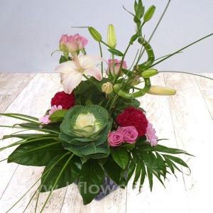 Букет цветов европейский 14