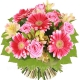Букет цветов европейский 16