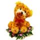 щенки из цветов(20см)