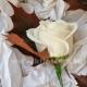 Букет невесты каскадный 42
