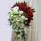 Букет невесты каскадный 45