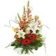 Букет цветов европейский 20