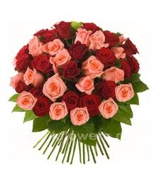 Букет цветов европейский 22
