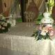 Свадебная настольная композиция 41