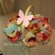 лепестки роз разноцветные