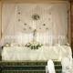 Свадебная настольная композиция 43