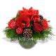 Букет цветов новогодний 18