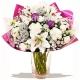 Букет цветов новогодний 29