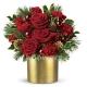 Букет цветов новогодний 19