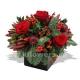 Букет цветов новогодний 21