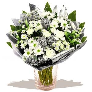 Букет цветов новогодний 24