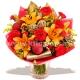 Букет цветов новогодний 30