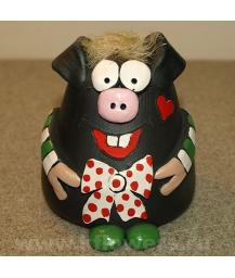 Фигурка свинка-копилка