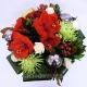 Букет цветов новогодний 33