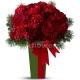 Букет цветов новогодний 34