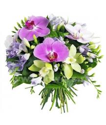 Букет цветов европейский 23