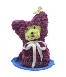котенок из цветов (50см)