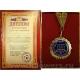 Медаль с дипломом 14