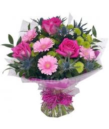 Букет цветов африканский 24