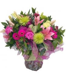 Букет цветов африканский 25