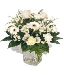 Букет цветов африканский 28