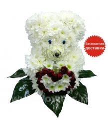медвежонок с сердечком