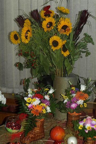 Бесподобные букеты и цветы в изобилии