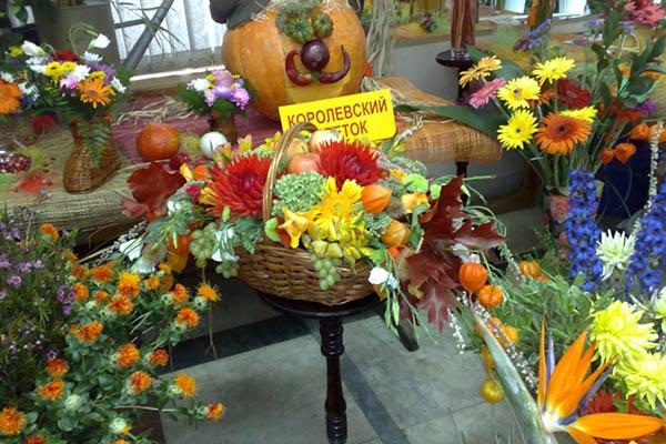 Осенне-летняя экспозиция фирмы Королевский Цветок