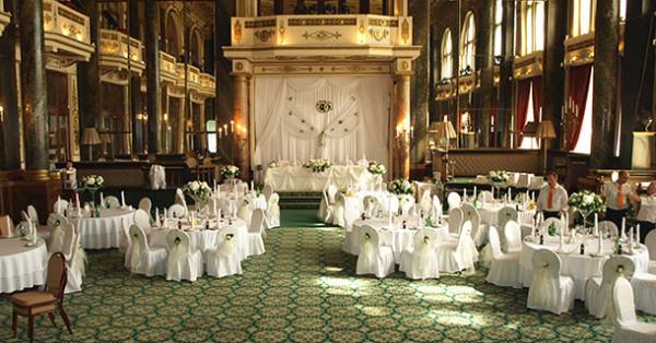 Декор свадьбы в ресторане Яр